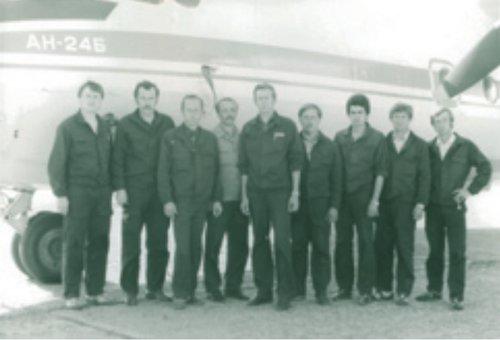 Коллектив. Июнь 1987 года.