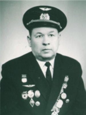 Первый командир авиаотряда П. П. Савин